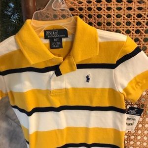 Yellow Polo 3T shirt